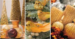 O dourado nos detalhes também foi apresentado pela coleção da Cromus./ Foto: divulgação
