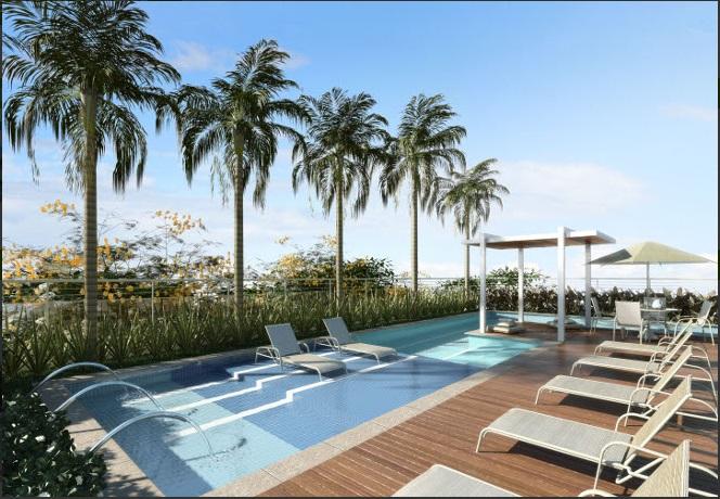 True Chácara Klabin tem piscina coberta com raia de 25 m e tratamento de ozônio./ Foto: divulgação