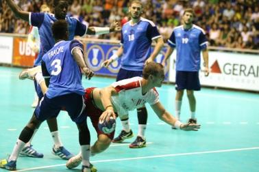 Final Dinamarca e França/ Foto: IHF